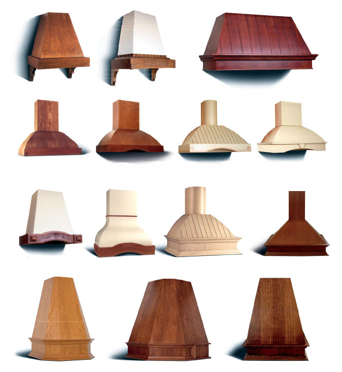Campanas de madera cocinas capis dise o y fabricaci n for Campanas de cocina de diseno