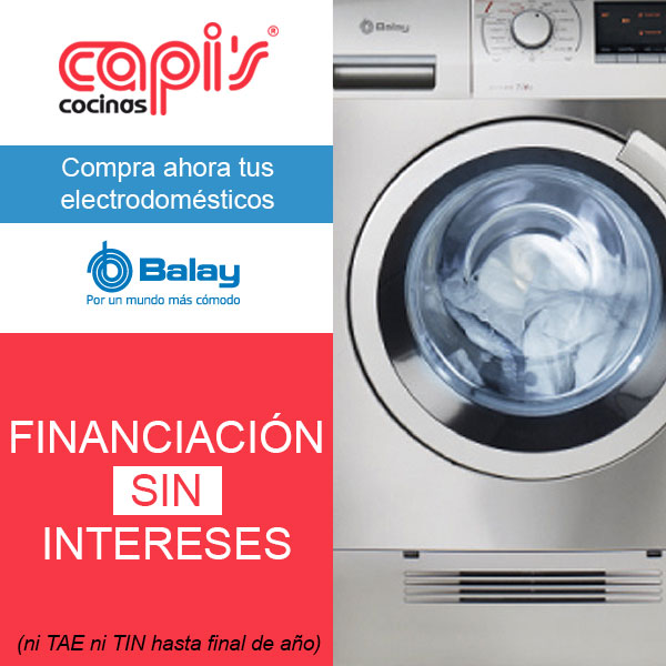 Promoción electrodomésticos Balay