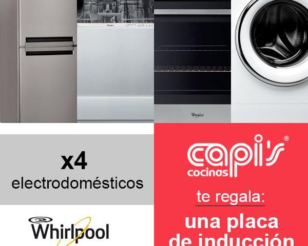 Promoción placa de inducción Whirlpool