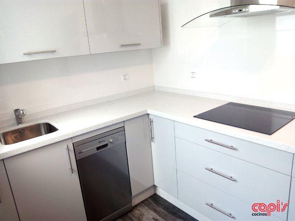 Cocina en color gris perla cocinas capi 39 s cocinas capis - Configurador de cocinas ...
