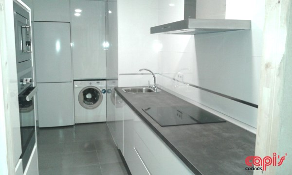 El blanco siempre perfecto. - Cocinas Capis, diseño y fabricación de ...