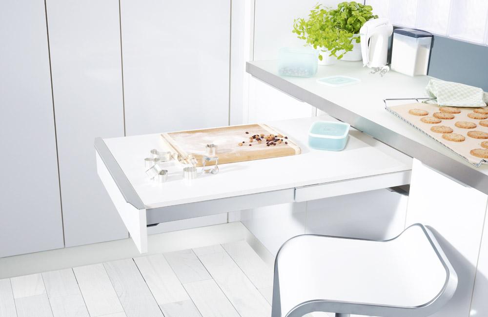 Accesorios para una cocina m s accesiblecocinas capis dise o y fabricaci n de cocinas en huelva Mesa extraible cocina