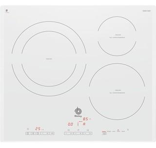 Placa de inducci n el blanco perfecto para tu cocina - Placa induccion blanca ...