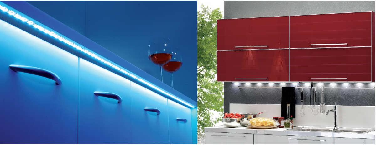 Algunas ideas para iluminar muebles de cocina - Cocinas Capis ...