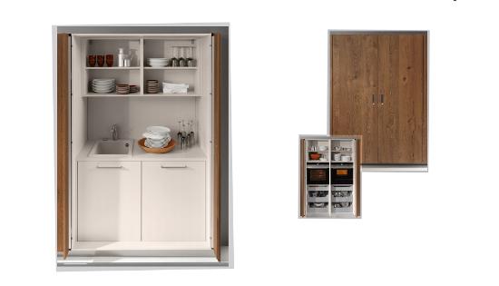 Cocinas escamoteables cocinas capis dise o y - Diseno de armarios gratis ...