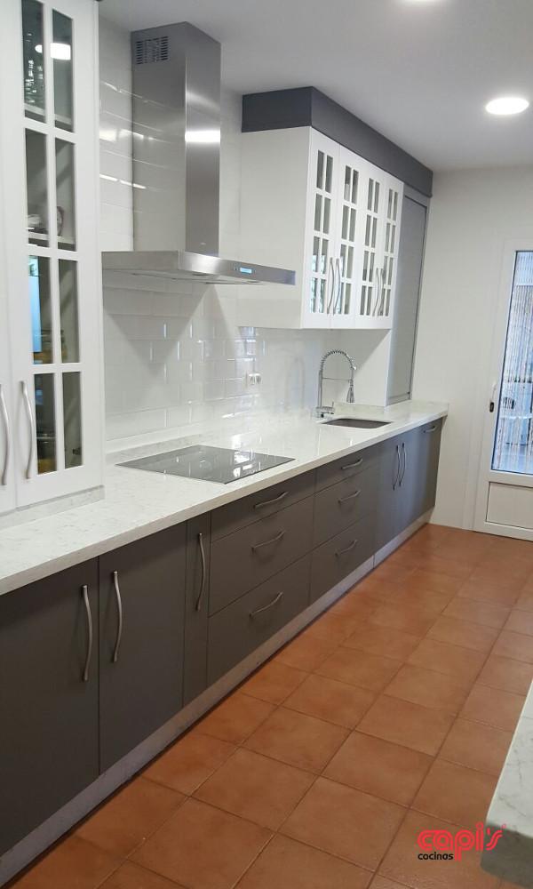 Cocina suave como la seda cocinas capis dise o y for Configurador de cocinas
