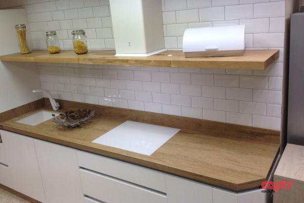 Nuestra propuesta para encimeras de cocina 2016 2017 - Cocinas con encimeras de madera ...