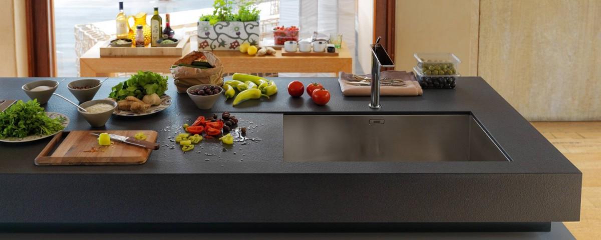 Fregaderos de vanguardia - Cocinas Capis, diseño y fabricación de ...