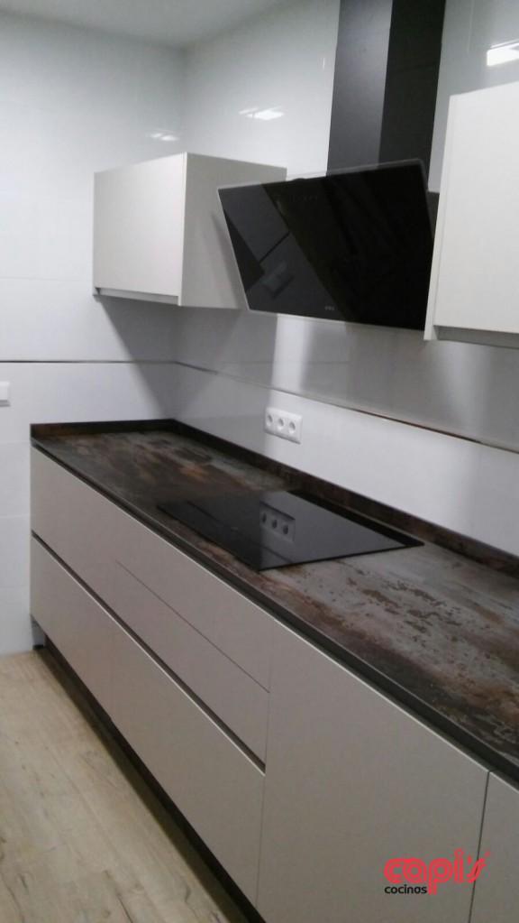 Placa de inducci n el blanco perfecto para tu cocina - Cocinas rio ...