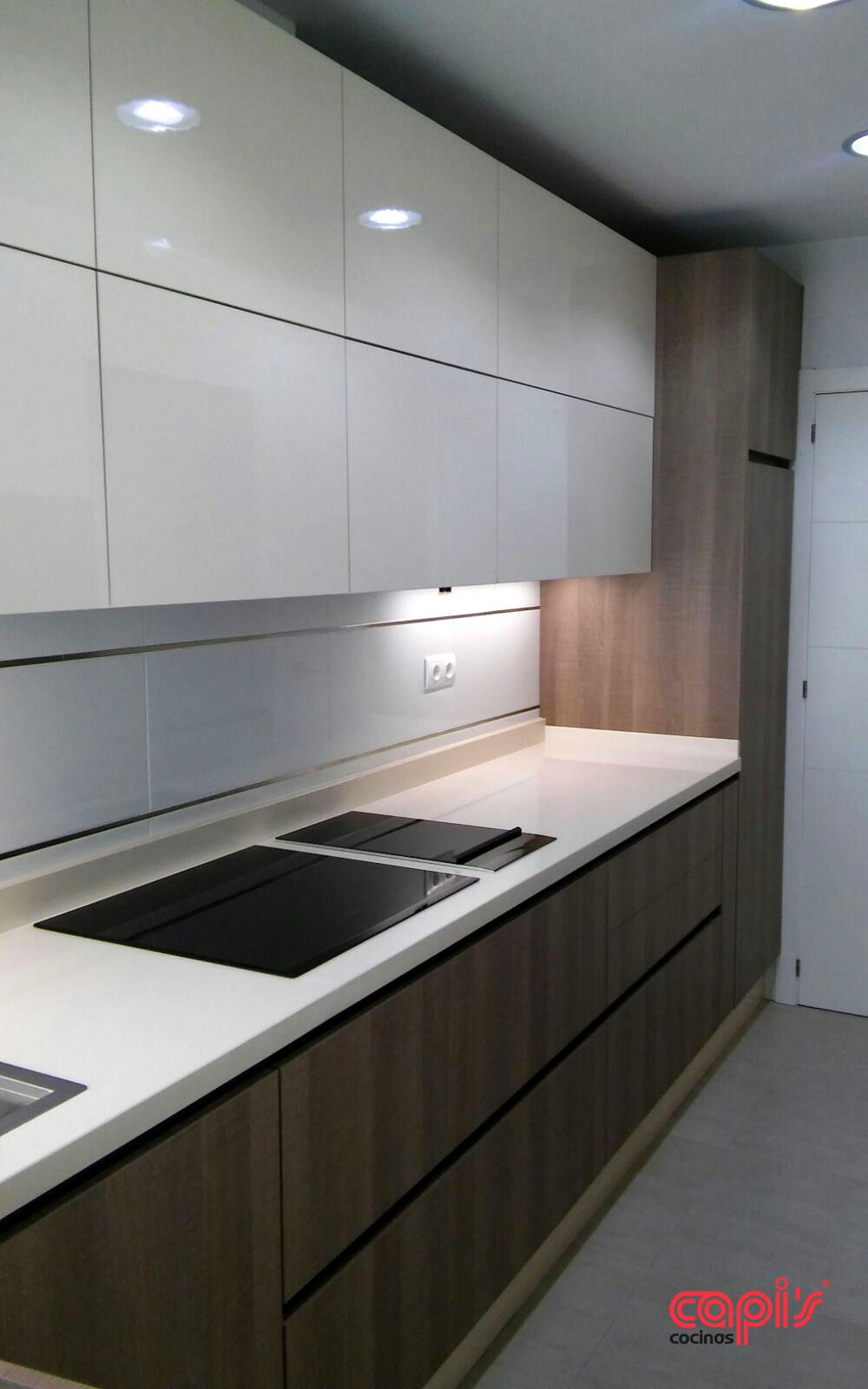 Cocina con alma de madera - Cocinas Capis, diseño y fabricación de ...