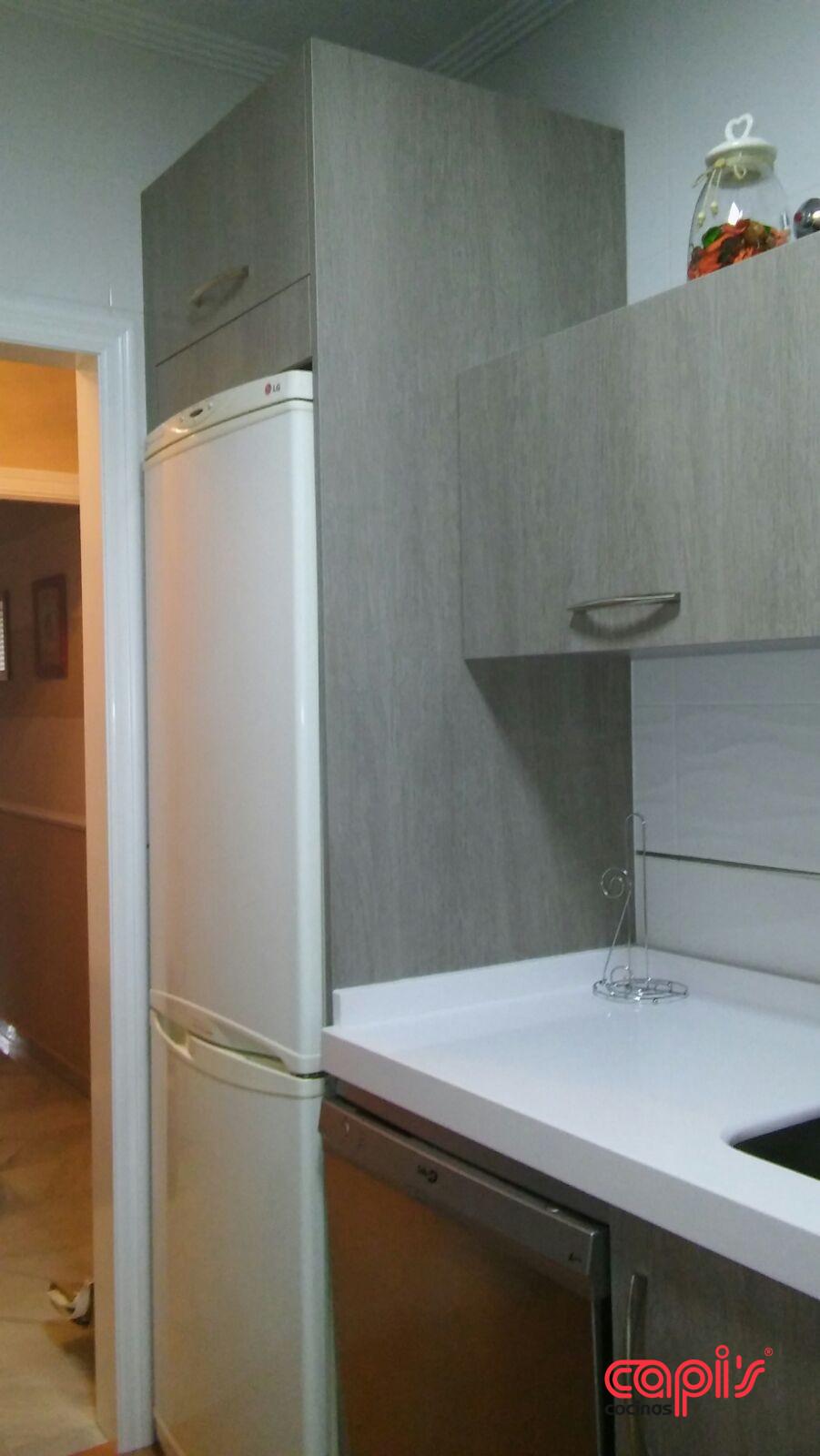Muebles Cocina Formica Efecto Cristal: Cocinas que dan en el blanco ...