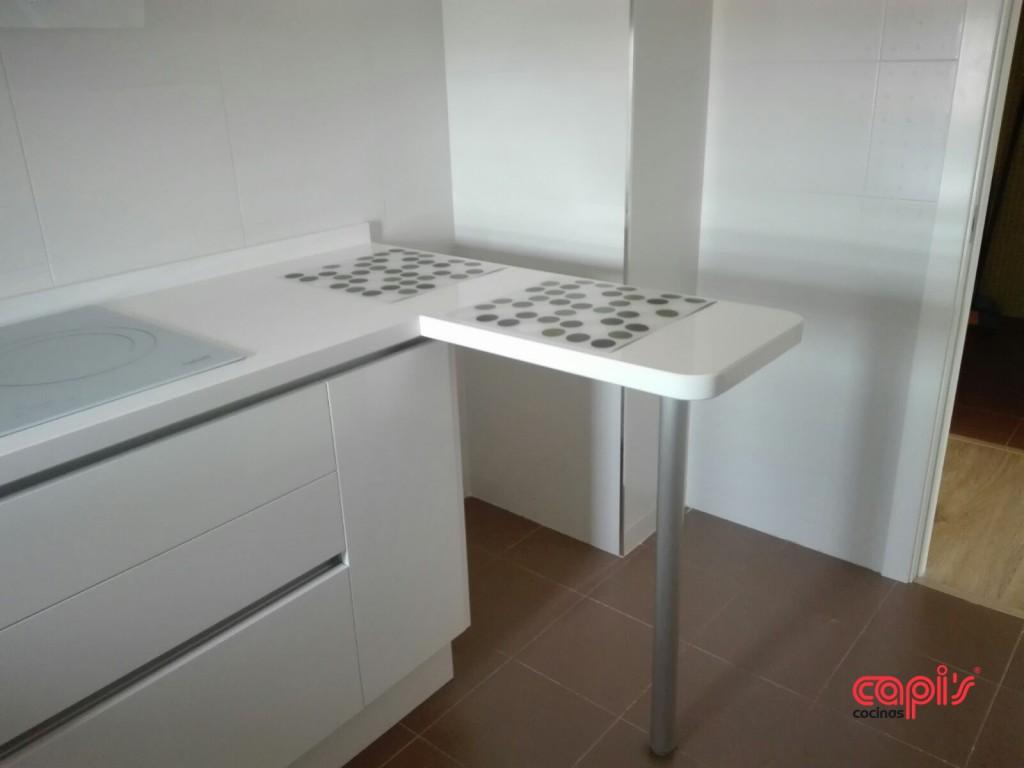 Diseño de cocina en blanco - Cocinas Capis, diseño y fabricación de ...