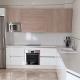 blanco y madera cocina portada
