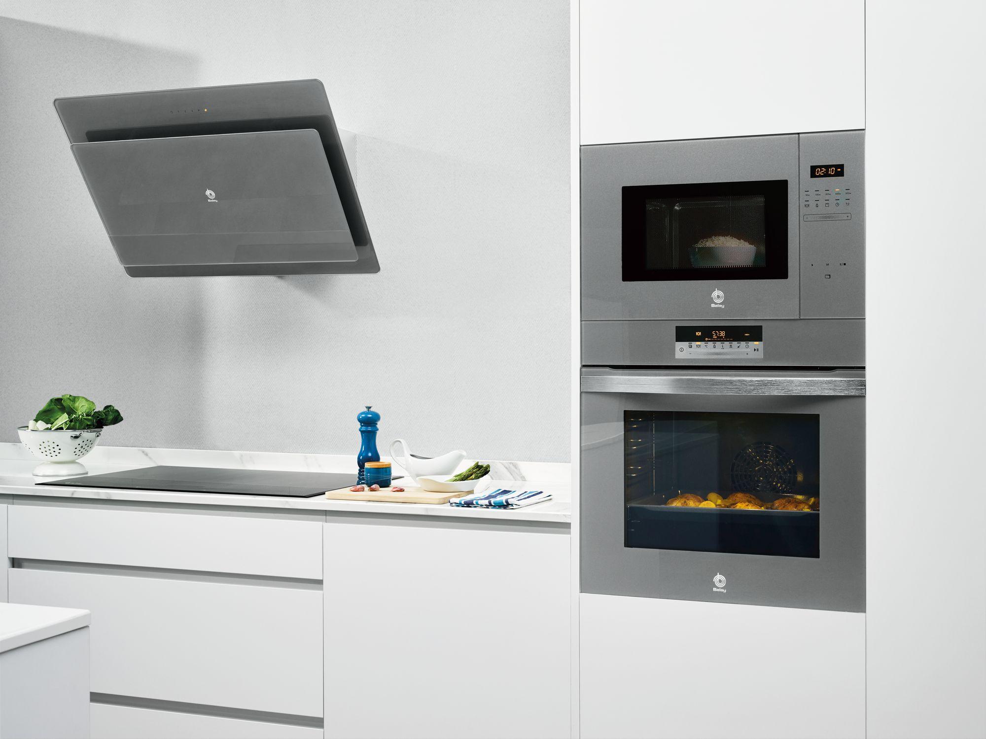 Compra tu cocina completa en cristal balay y ll vate un - Cocinas de induccion balay ...