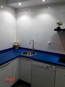 cocina encimera azul capis 4