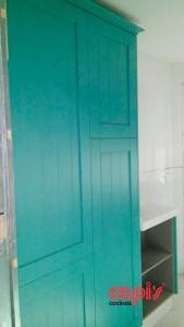 capis verde azulada 5
