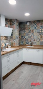 Cocina Mosaico tiradores 4